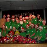 Święto Radości - mikołajki w Gostycynie, występ grupy Tuptuś z Ceksyna 2012 7