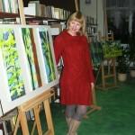 Zielono mi A. Urbańska wystawa MBP Tuchola 2012 1
