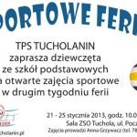 sportowe ferie z TPS Tucholanin 2013