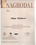 Dyplom Agaty GRABOWICZ Bydgoszcz 2013