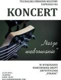koncert harcerzy plakat 03.2013