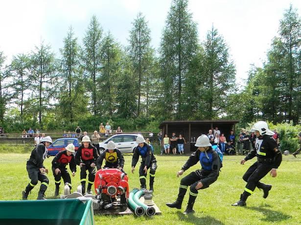 zawody sportowo - pożarnicze Śliwice 06.2013 2