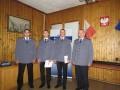 KPP Tuchola przyjęcie do służby stałej B. Wiese, J. Koniarski 8.2013 1