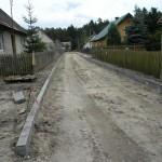 Byłycek (gm. Śliwice) - remont drogi 10.2013 2
