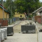 Byłycek (gm. Śliwice) - remont drogi 10.2013 3