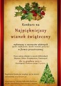 Konkurs na 'Najpiękniejszy wianek świąteczny' BN Kęsowo 11.2013