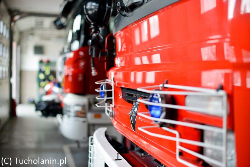 Tu jeszcze w garażu PSP Tuchola 4.7.2013-1