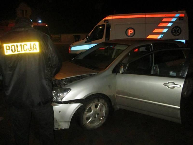 Wypadek Śliwice 3.11.2013 1