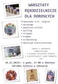 zajęcia platyczne dla dorosłych GOK Cekcyn 2013