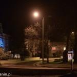 Oświetlenie uliczne Tuchola (lampy uliczne, przepalone)12.2013