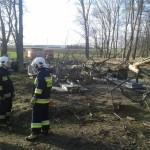 W akcji PSP Śliwice 17-18.03.2014 (fot. OSP Śliwice) 1