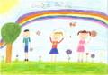 Powiatowy Dzień Dziecka - konkurs na plakat I nagroda Oliwia Rybicka