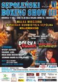 Sępoleński Boxing Show 11.05.2014plakat