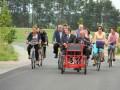 2,4 km nowej drogi Rosochatka – Lińsk otwarcie 29.06.2014 3