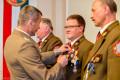 Medale od min. obrony narodowej dla Kurkowego  Bractwa Strzeleckiego w Tucholi 11.07.2014-9