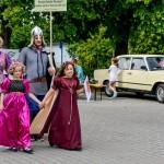 Otwarcie 55. Dni Borów Tucholskich Historyczny Pochód Borowiaków 5.07.2014-5