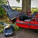 Wypadek Drożdżenica 23.08.2014-10