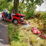 Wypadek Drożdżenica 23.08.2014-12