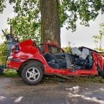Wypadek Drożdżenica 23.08.2014-13