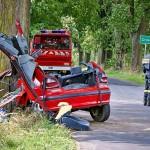 Wypadek Drożdżenica 23.08.2014-3