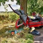 Wypadek Drożdżenica 23.08.2014-5