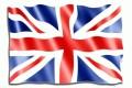 Angielski flaga Wielkiej Brytanii