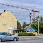 Budowa nowego budynku KPP Tuchola 9.09.2013-1