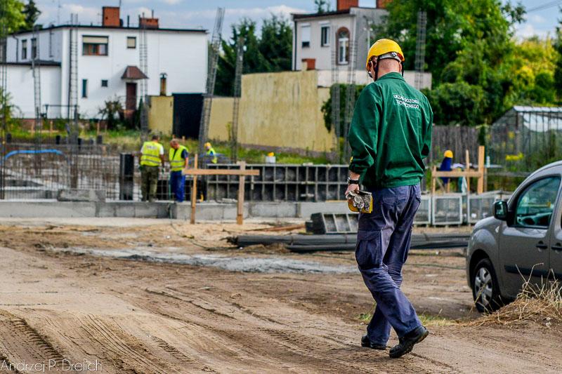 Budowa nowego budynku KPP Tuchola 9.09.2013-4