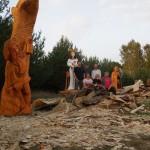Plener rzeźbiarski w Pile 09.2014 2