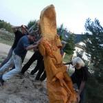 Plener rzeźbiarski w Pile 09.2014 6