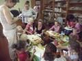 Zajęcia edukacyjno-zabawowe w bibliotece w Gostcynie 9.09.2014