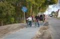 Ścieżka rowerowa Śliwice - Lińsk oddanie do użytku 7.10.2014 (fot. Starostwo w Tucholi) 3