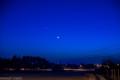 Randka Wensu z Marsem w świetle księżyca 20.02.2015-1