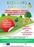 Konkurs plastyczny LGR Borowiacka Rybka 3.2015 plakat