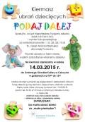 Podaj dalej Cekcyn 14.03.2015 plakat