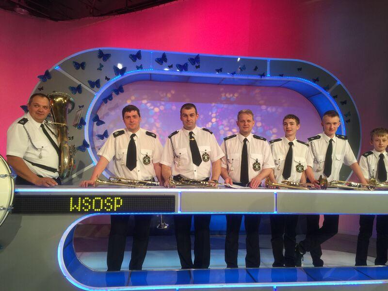 Famialiada OSP Bysław na nagraniu odcinka teleturnieju 21.04.2015 2