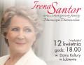 Koncert Irena Santor 12.04.2015 DK Lubiewo plakat