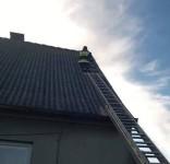 Zabezpieczenie dachu po wichurze ul. Sępoleńska Gostycyn OSP Gostycyn (fot. OSP Gostycyn) 6