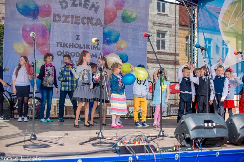 Dzień Dziecka Tuchola Pl. Wolności 31.05.2015-1