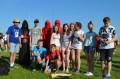 Uczniowie z Gostycyna na astrofestiwalu w Kruszwicy 06.2015 fot. UG Gostycyn 1