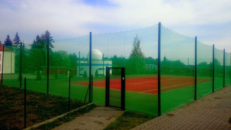 Remont kortu tenisowego Gostycyn 08.2015 fot. UG Gostycyn 3