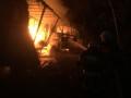 Wypadek i pożar tira na trasie lubiewice - rykowisko 15.08.2015 3