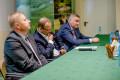 Paweł Olszewski - sekretarz stanu w Ministerstwie Infrastruktury i Rozwoju – oddział chirurgiczny Szpital Tucholski, książnica spotkanie z samorządowcami i młodzieżą-17