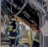Pożar Klocek 1.10.2016-17