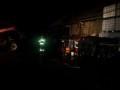 Pożar budynku gospodarczego Kęsowo 4.10.2015 fot. OSP Drozdzenica 1