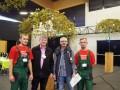 II miejsce w Europie na Olimpiadzie Agrobiznesu w Ettelbruck w Luksemburgu Dariusz Kordecki i Arkadiusz Boniek ZSLiA 11.2015 1