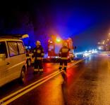 Wypadek Gostycyn nie żyje prezes zarządu gminnego OSP Gostycyn Henryk Łożyca 26.01.2016-11