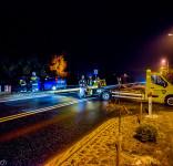 Wypadek Gostycyn nie żyje prezes zarządu gminnego OSP Gostycyn Henryk Łożyca 26.01.2016-3
