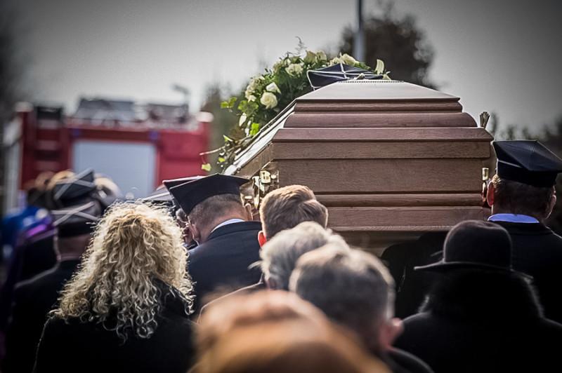 Pogrzeb Janusz Kiedrowski Bysław 8.03.2016-21