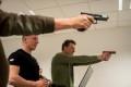 Szkolenie strzelania leśnicy w KPP Tuchola 02.2016 (fot. KPP Tuchola) 3
